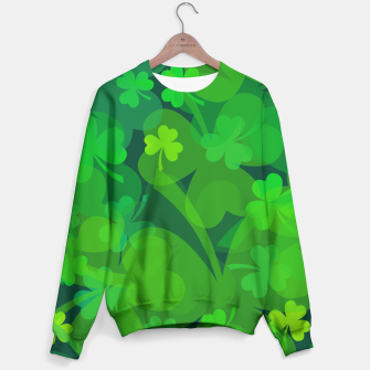 Thumbnail image of Lucky Shamrocks Sweater, Live Heroes