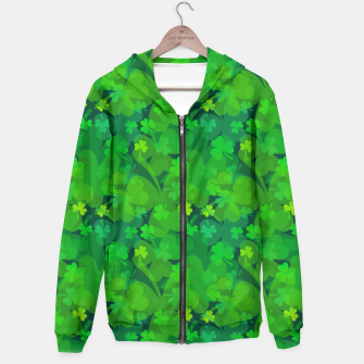 Thumbnail image of Lucky Shamrocks Hoodie, Live Heroes