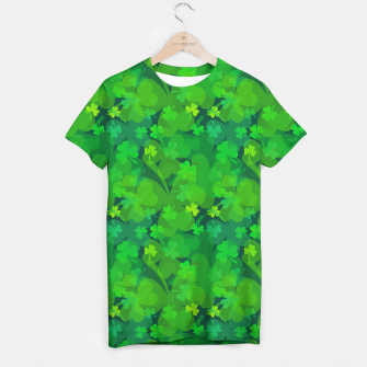 Thumbnail image of Lucky Shamrocks T-shirt, Live Heroes