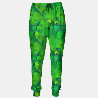 Thumbnail image of Lucky Shamrocks Sweatpants, Live Heroes