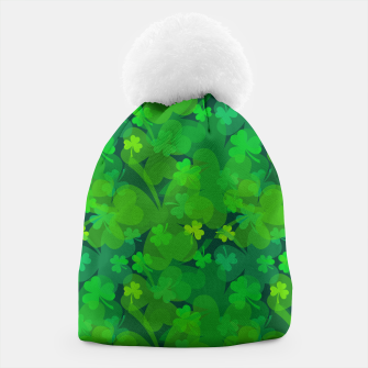 Thumbnail image of Lucky Shamrocks Beanie, Live Heroes