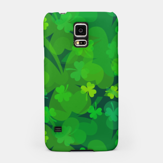 Thumbnail image of Lucky Shamrocks Samsung Case, Live Heroes