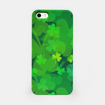 Thumbnail image of Lucky Shamrocks iPhone Case, Live Heroes