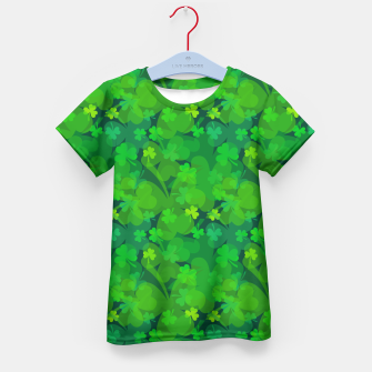 Thumbnail image of Lucky Shamrocks Kid's T-shirt, Live Heroes