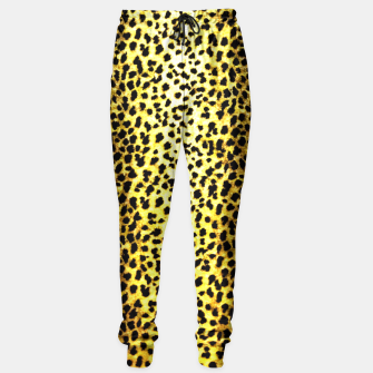 Thumbnail image of Leopard Wallpaper Print Sweatpants, Live Heroes