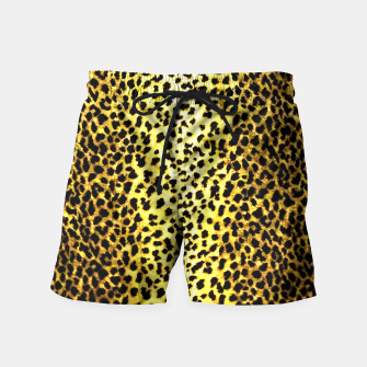Thumbnail image of Leopard Wallpaper Print Swim Shorts, Live Heroes