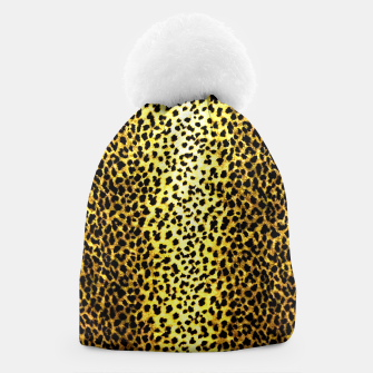 Thumbnail image of Leopard Wallpaper Print Beanie, Live Heroes