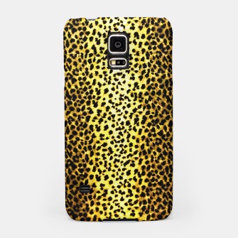 Thumbnail image of Leopard Wallpaper Print Samsung Case, Live Heroes