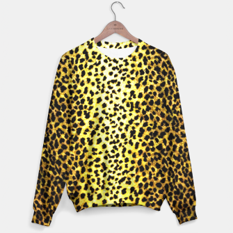 Thumbnail image of Leopard Wallpaper Print Sweater, Live Heroes