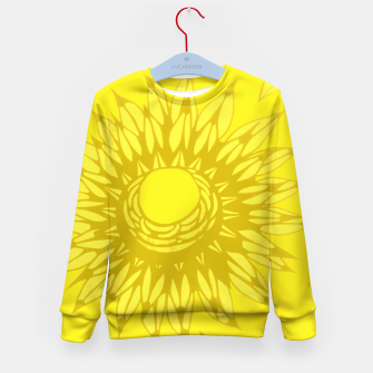 Thumbnail image of Geltainen Kid's Sweater, Live Heroes