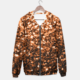Miniaturka Beautiful  Orange Brown Bronze glitters sparkles Hoodie, Live Heroes