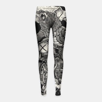 Thumbnail image of Winya No. 91 Girl's Leggings, Live Heroes