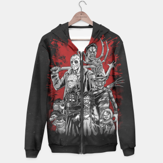 Thumbnail image of Horror League 2.0 Sudadera con capucha, Live Heroes