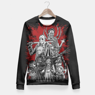 Thumbnail image of Horror League 2.0 Sudadera entallada, Live Heroes