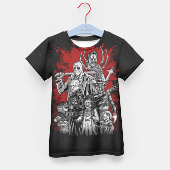 Thumbnail image of Horror League 2.0 Camiseta para niños, Live Heroes