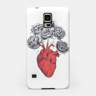 Thumbnail image of Heart with peonies Samsung Case, Live Heroes