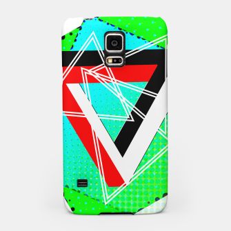 Thumbnail image of Geometric Optical Illusion Fusion Samsung Case, Live Heroes