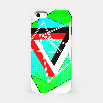 Thumbnail image of Geometric Optical Illusion Fusion iPhone Case, Live Heroes