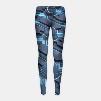Thumbnail image of Conduct Girl's Leggings, Live Heroes