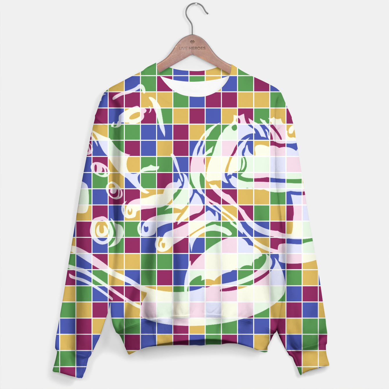 Image of Sneakers (Pattern 01) Sweater - Live Heroes
