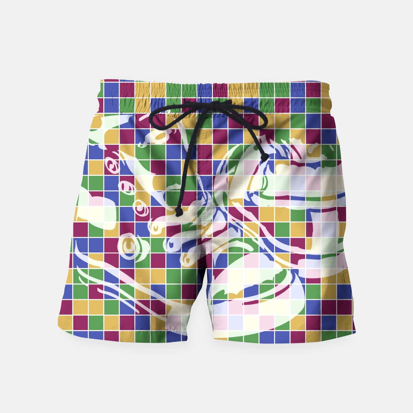 Image of Sneakers (Pattern 01) Swim Shorts - Live Heroes