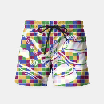 Thumbnail image of Sneakers (Pattern 01) Swim Shorts, Live Heroes