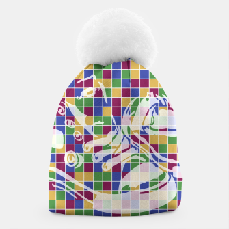 Thumbnail image of Sneakers (Pattern 01) Beanie, Live Heroes