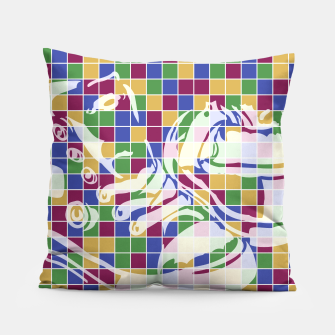 Thumbnail image of Sneakers (Pattern 01) Pillow, Live Heroes