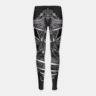 Thumbnail image of Winya No. 95 Girl's Leggings, Live Heroes