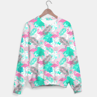 Thumbnail image of Tropical pattern Sweater, Live Heroes
