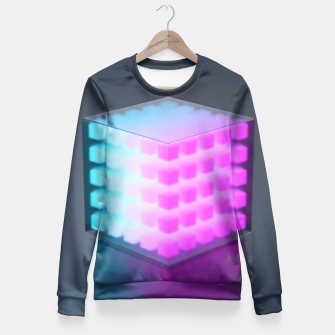 Thumbnail image of Cubic Fitted Waist Sweater, Live Heroes