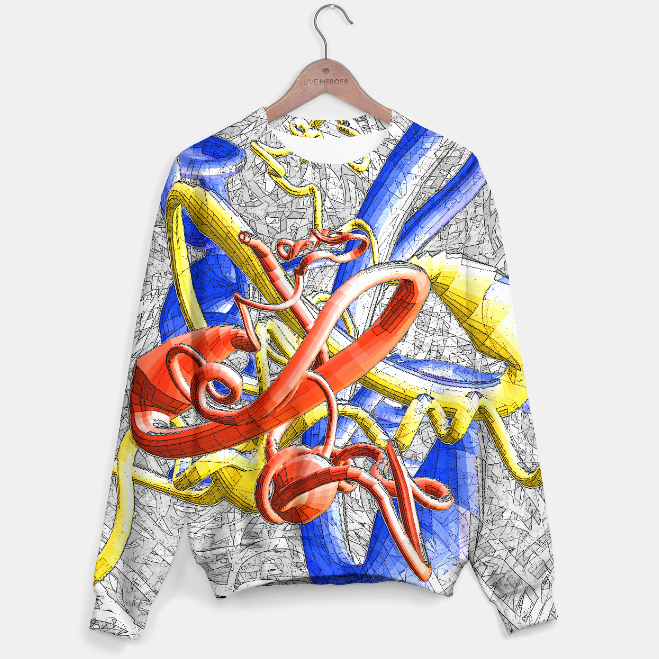 Image of sotm Sweater - Live Heroes