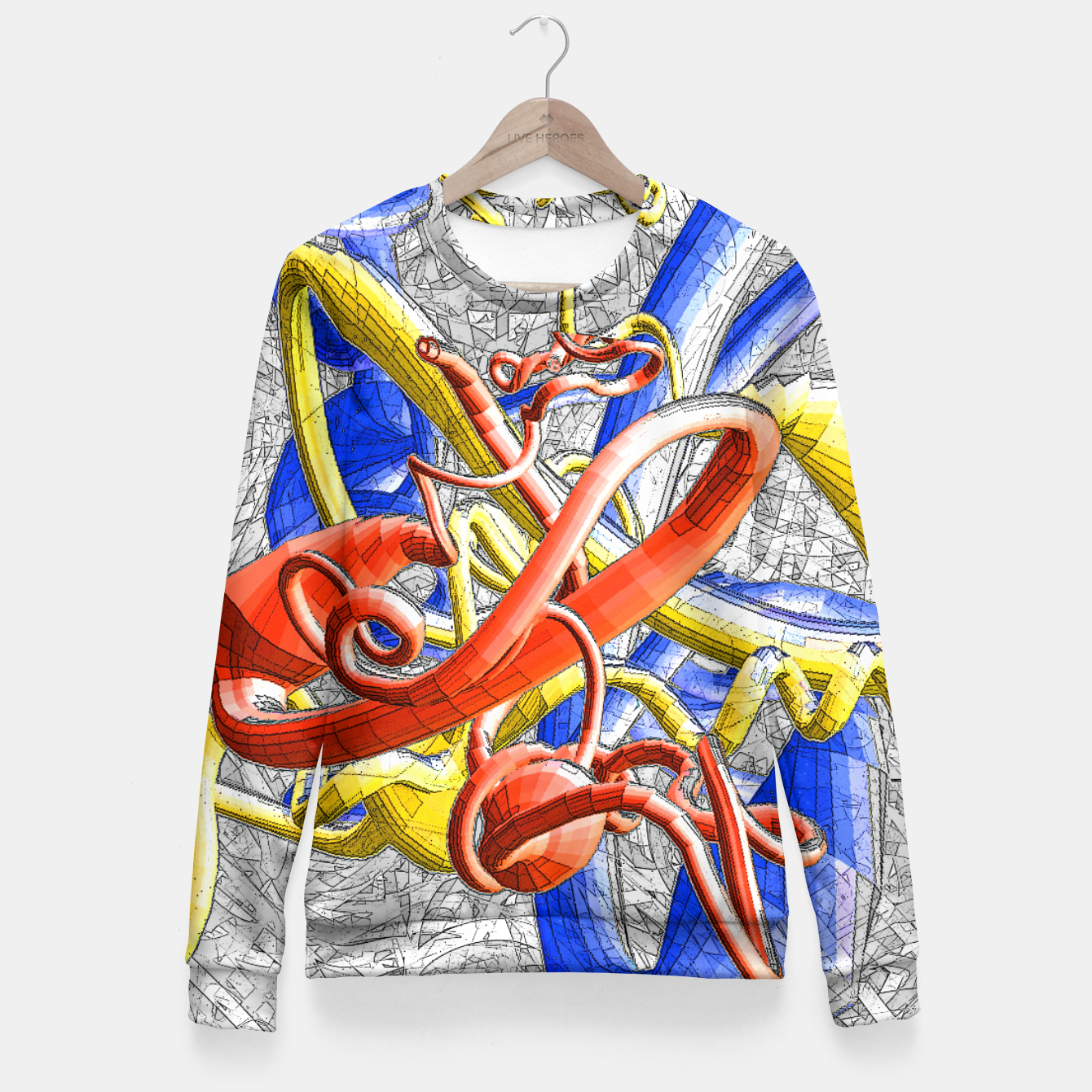 Image of sotm Fitted Waist Sweater - Live Heroes
