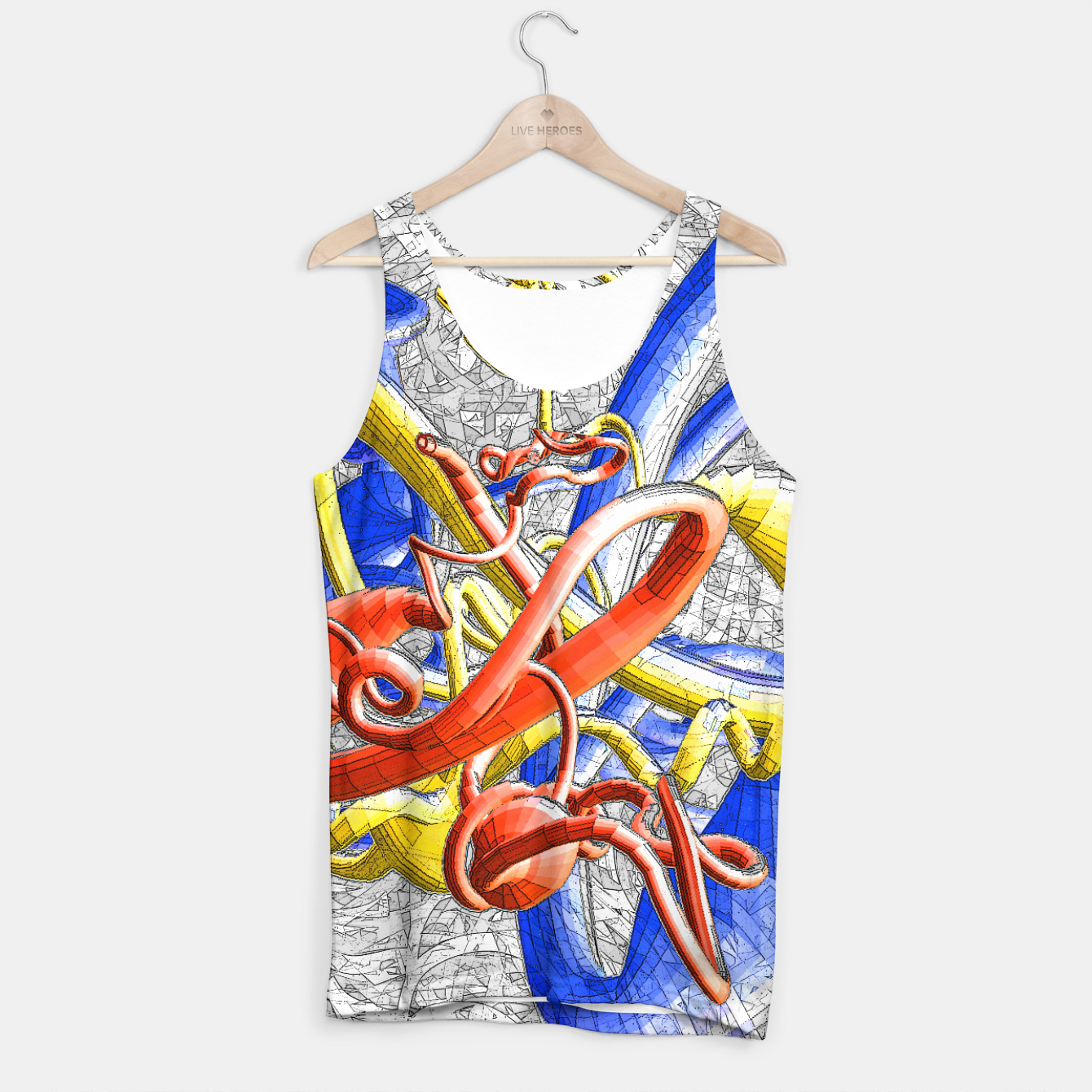 Image of sotm Tank Top - Live Heroes