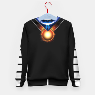 Thumbnail image of Wings Of Lightning Kid's Sweater, Live Heroes