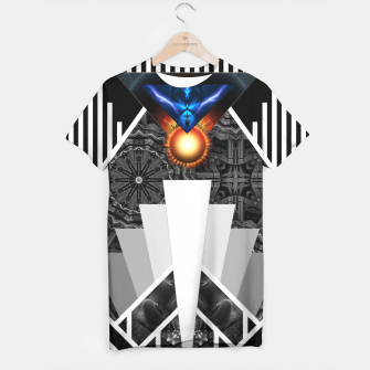 Thumbnail image of Wings Of Lightning Deco Mech Flare T-shirt, Live Heroes