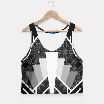 Thumbnail image of Wings Of Lightning Deco Mech Flare Crop Top, Live Heroes