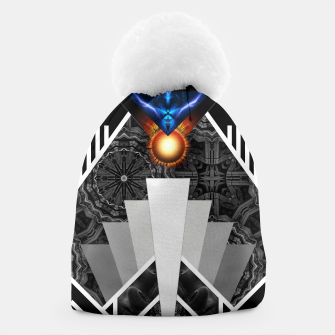 Thumbnail image of Wings Of Lightning Deco Mech Flare Beanie, Live Heroes
