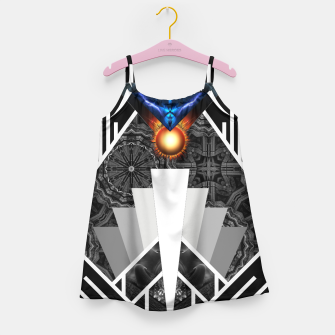 Thumbnail image of Wings Of Lightning Deco Mech Flare Girl's Dress, Live Heroes