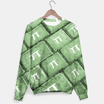 Miniatur Pi Grunge Style Pattern Sweater, Live Heroes