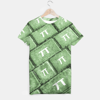 Miniatur Pi Grunge Style Pattern T-shirt, Live Heroes
