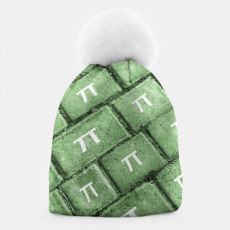 Miniatur Pi Grunge Style Pattern Beanie, Live Heroes