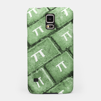 Miniatur Pi Grunge Style Pattern Samsung Case, Live Heroes
