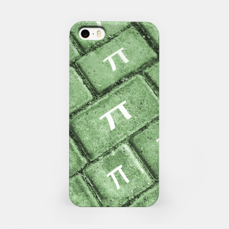 Miniatur Pi Grunge Style Pattern iPhone Case, Live Heroes