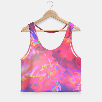 Thumbnail image of Morphine Crop Top, Live Heroes