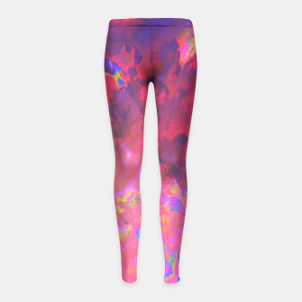 Thumbnail image of Morphine Girl's Leggings, Live Heroes