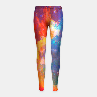Thumbnail image of Extra Girl's Leggings, Live Heroes