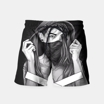 Thumbnail image of Winya No. 100 Swim Shorts, Live Heroes