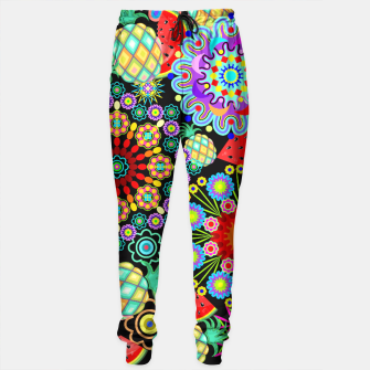 Thumbnail image of Mandalas and Exotic Fruits Pattern  Sweatpants, Live Heroes