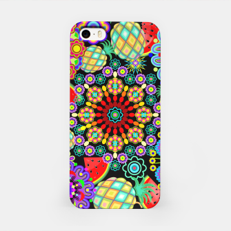 Thumbnail image of Mandalas and Exotic Fruits Pattern  iPhone Case, Live Heroes